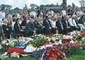 E10 Spomienková slávnosť v Auschwitzi